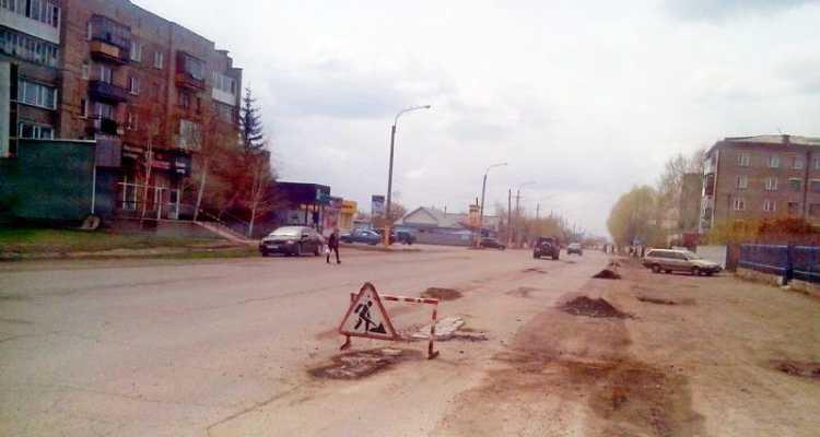 Дороги Щучинска
