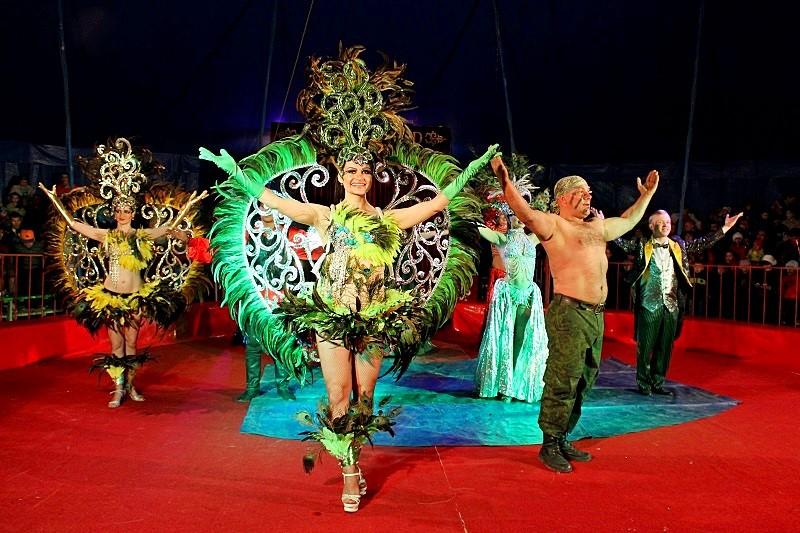 Цирк шапито 'CIRCUSLAND' 5-7 августа в Щучинске