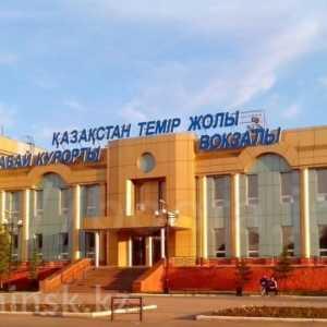 ЖД вокзал Щучинск расписание поездови электричек