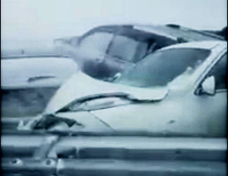 Массовое ДТП произошло на трассе Астана - Щучинск