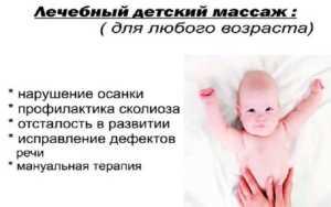 Эффективный лечебный детский массаж