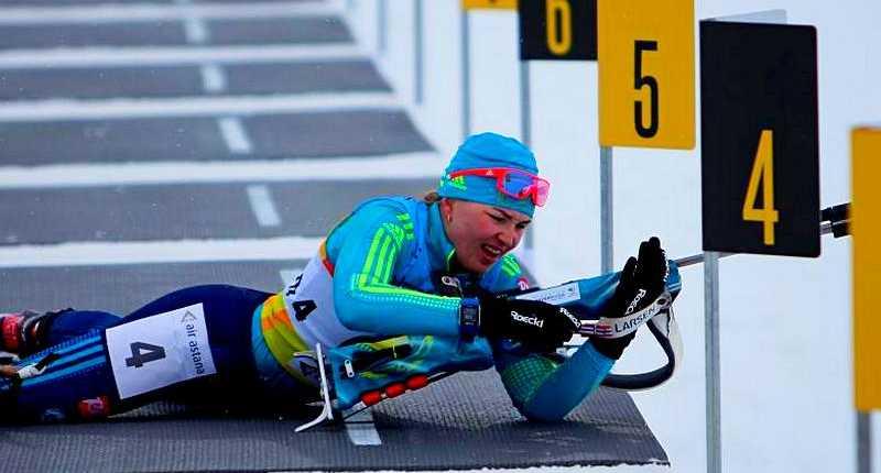 Биатлонистка из Щучинска Алина Райкова