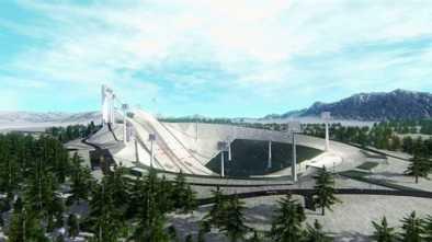 Лыжный трамплин в Щучинске обошелся бюджету в 61 млрд тенге