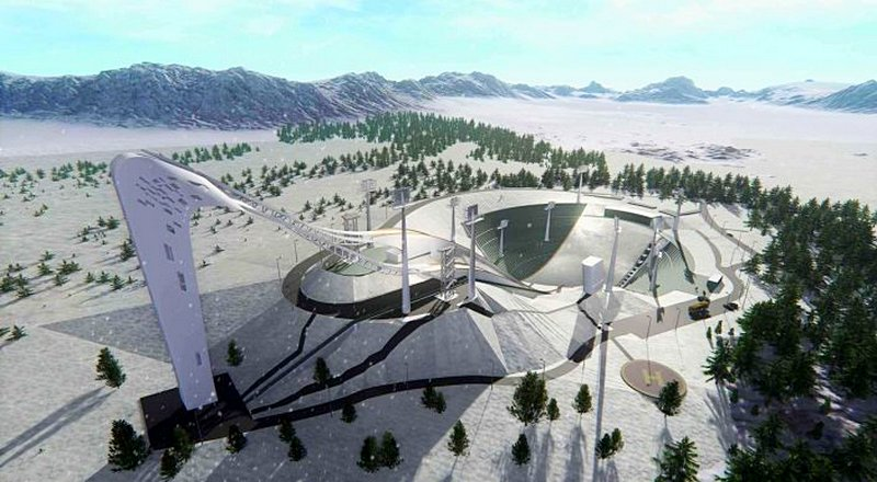 Центр олимпийской подготовки по зимним видам спорта ЩучинскКазахстан