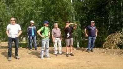 Трамплин в Щучинске посетили специалисты FIS и IBU