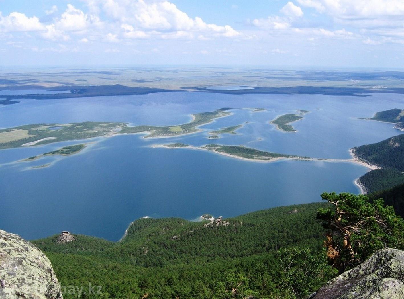 Боровое озеро Большое Чебачье