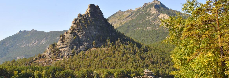 Боровое гора Окжетпес
