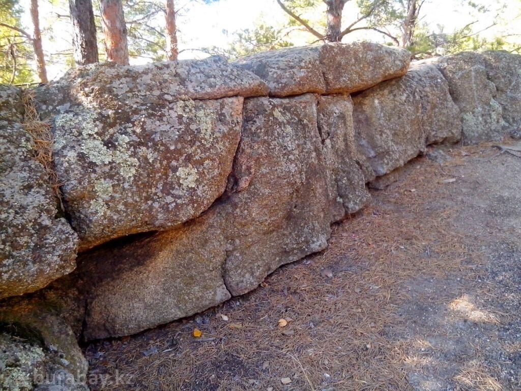 Легенды про Боровое - Таскамал (каменная крепость)