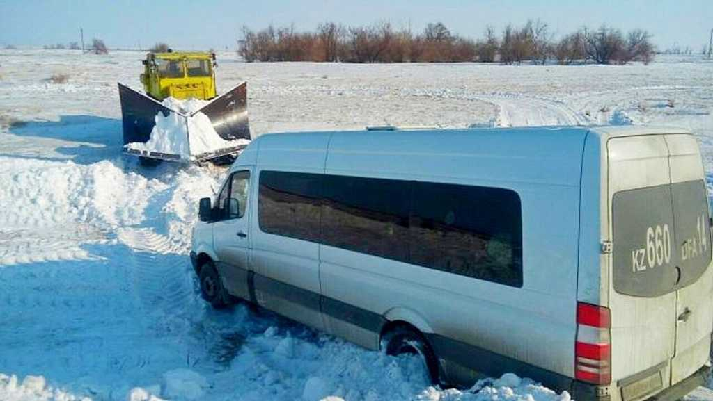 Эвакуированные в Щучинск из-за непогоды пассажиры, покинули пункты обогрева