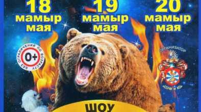 Щучинск цирк 2018