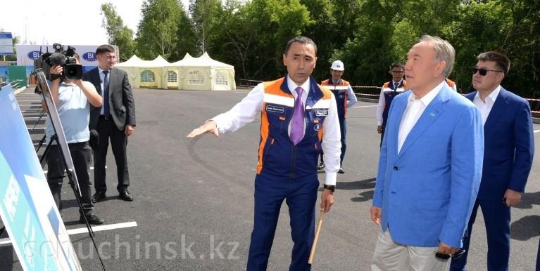 Нурсултан Назарбаев ознакомился с планами строительства нового туристического объекта на территории Щучинско-Боровской курортной зоны