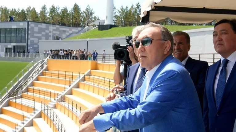 Президент Нурсултан Назарбаев посетил Щучинск и дал старт работе комплекса лыжных трамплинов К90 и К125 «Центра олимпийской подготовки по лыжным видам спорта»