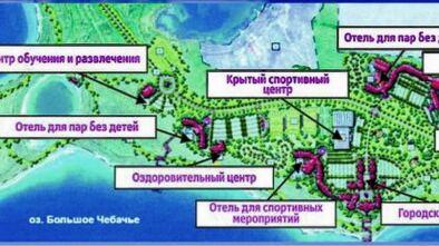 Проект «Ак Бура» на озере Большое Чебачье