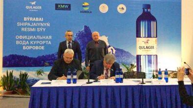 Минеральная вода «QULAGER-BURABAY» признана официальной водой курорта Бурабай