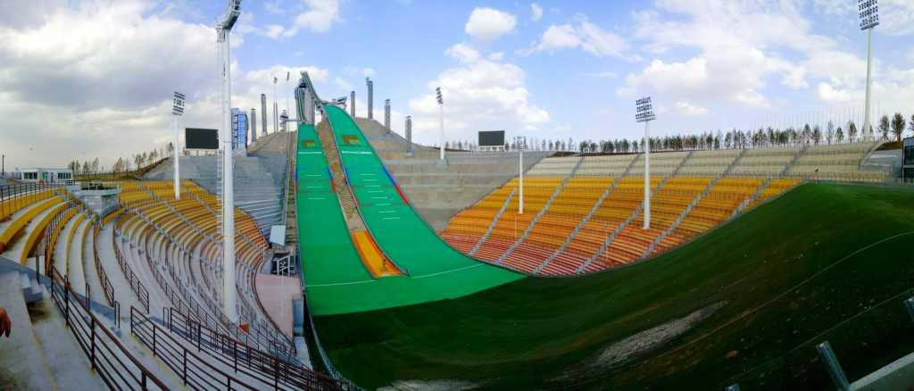 Центр Олимпийской Подготовки по Зимним Видам Спорта Щучинск, Казахстан