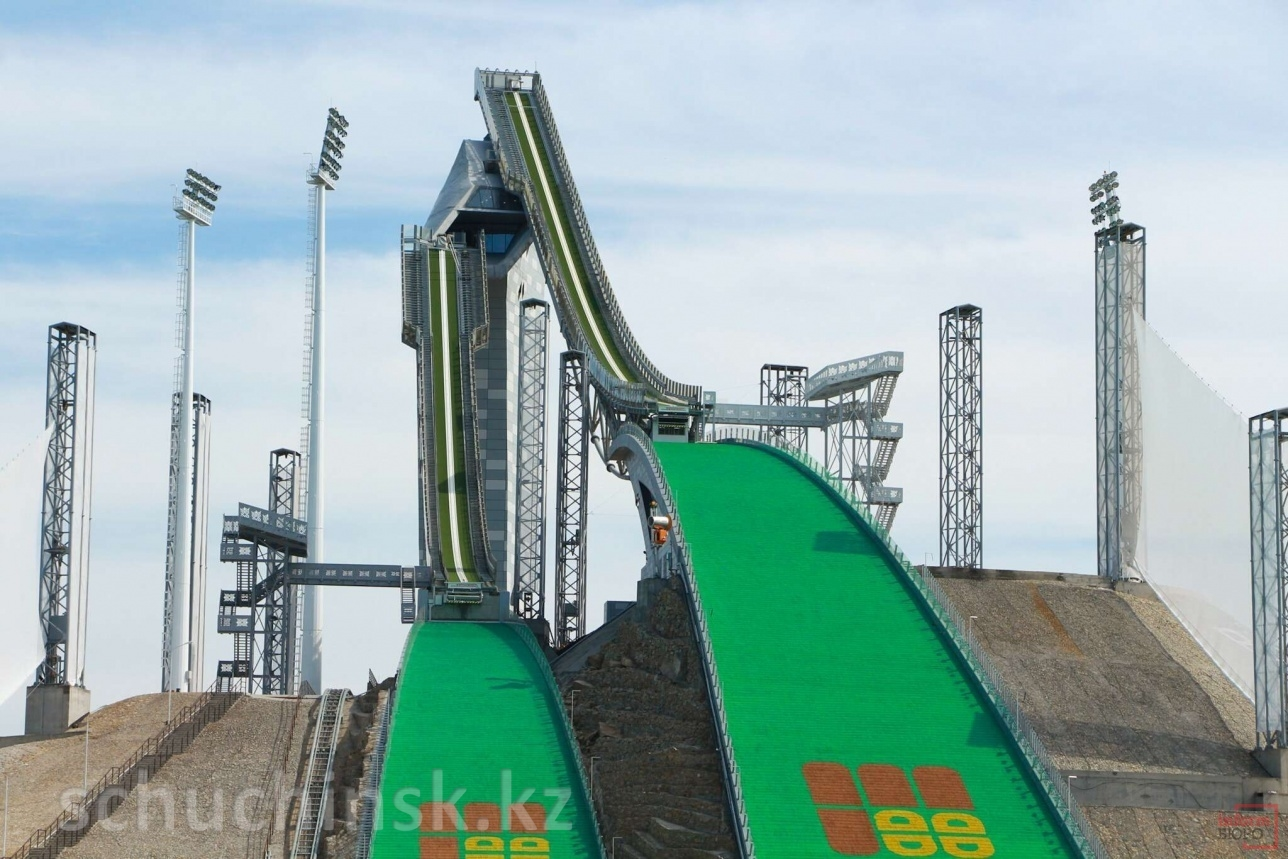 Международная лыжная база «Бурабай» в Щучинске