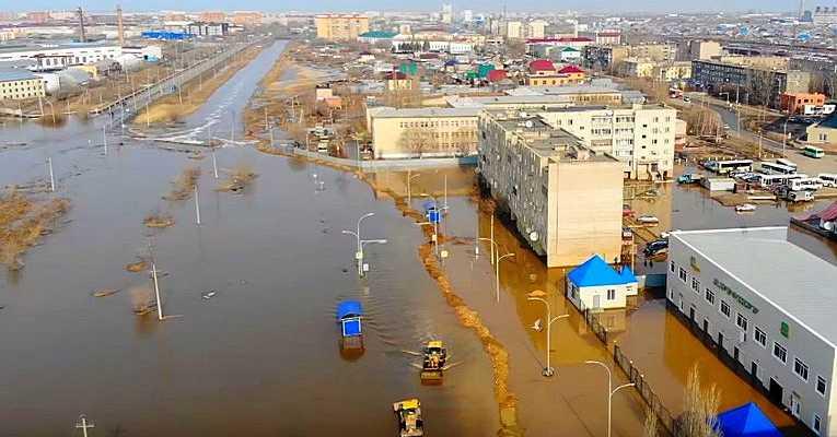 Наводнение в г. Кокшетау