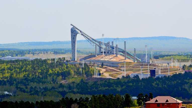 Центр олимпийской подготовки по зимним видам спорта Щучинск Казахстан