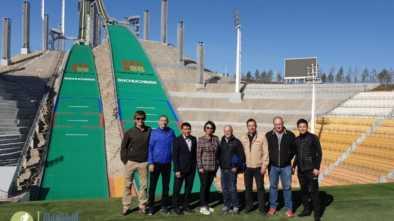 16.05.19Международные соревнования по прыжкам на лыжах с трамплина пройдут в Щучинске