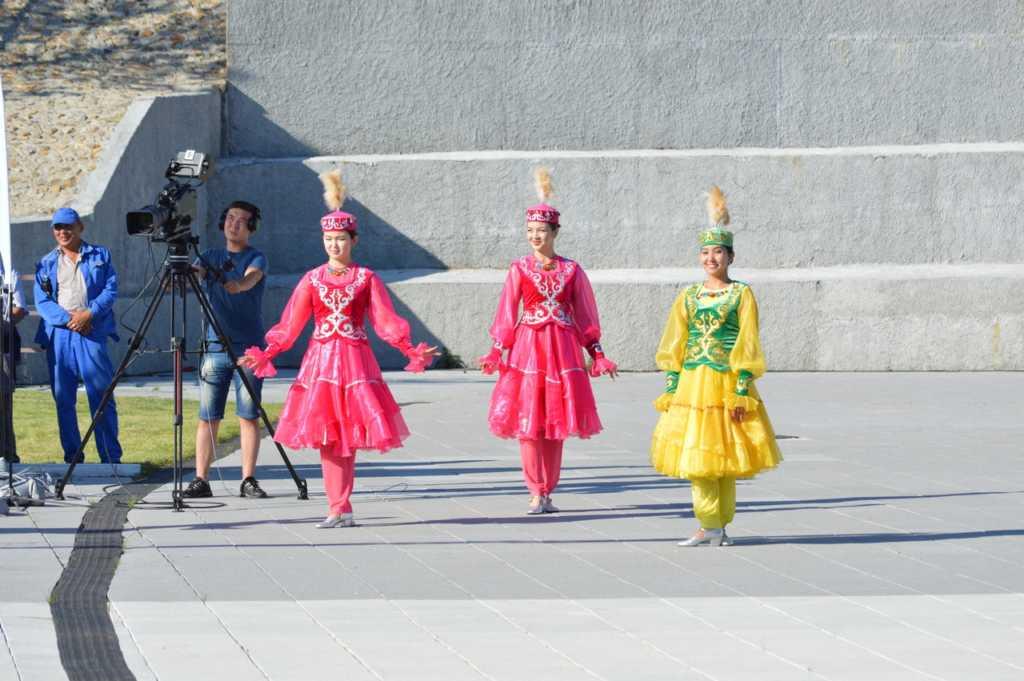 Церемония открытия международных соревнований
