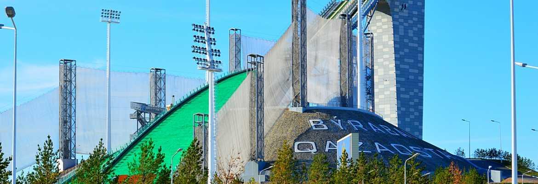 3 сентября, в Щучинске стартовал этап летней серии Гран-при по прыжкам на лыжах с трамплина с участием олимпийских чемпионов