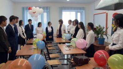 Открытие новой IT школы-лицей № 11 города Щучинск