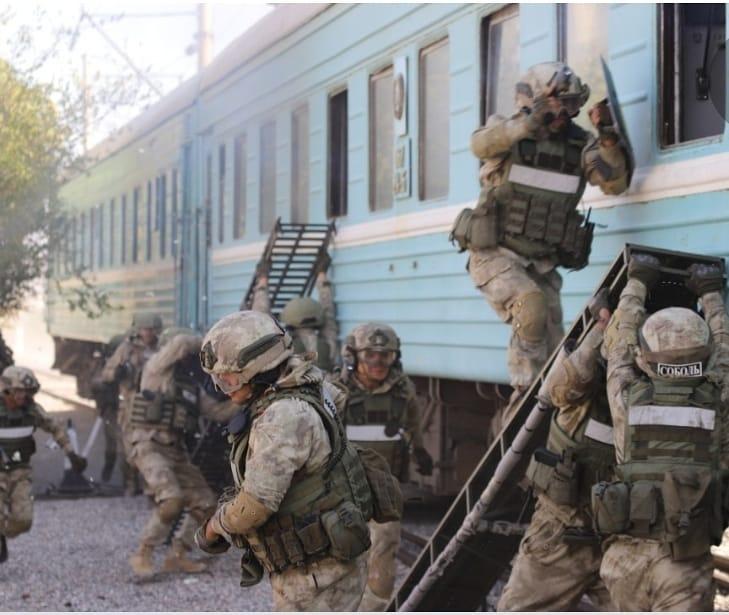 12 февраля 2020 года на территории г. Щучинск проводятся антитеррористические учения