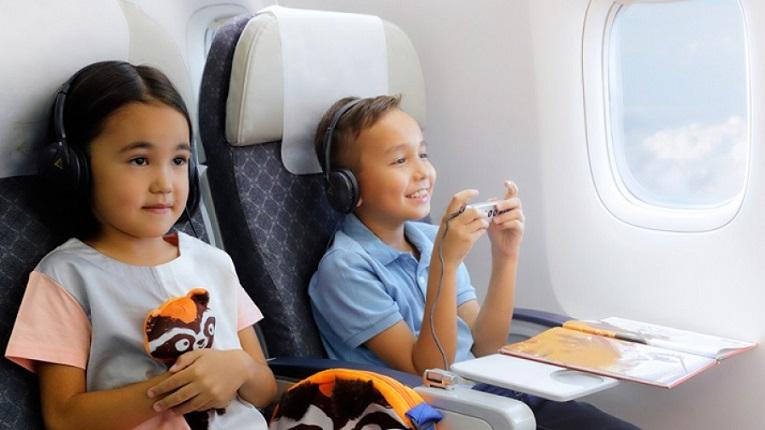 Дети до 14 лет смогут бесплатно летать на самолетах по Казахстану