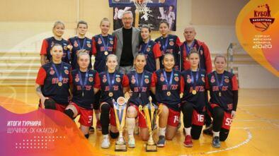 Итоги розыгрыша Кубка Казахстана по баскетболу среди женских команд 2020 в Щучинске